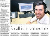 Small is as vulnerable - Sunday Tribune<br />March 2015
