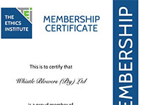 The Ethics Institute of South Africa Certification