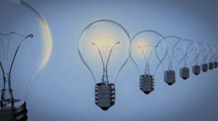 Light Bulbs In A Row